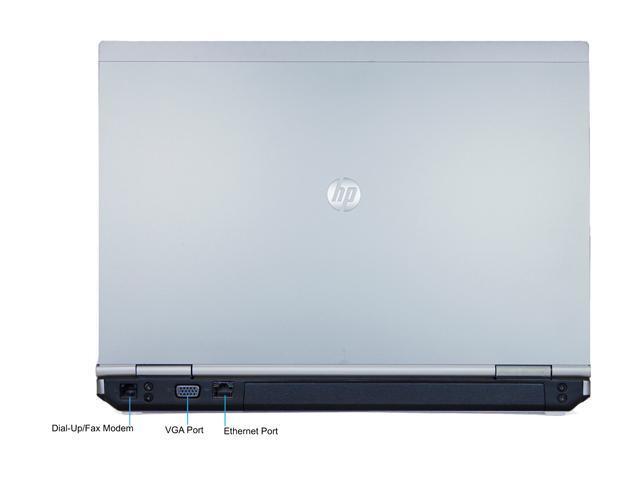 HP B Grade Laptop EliteBook 8460P Intel Core i5 2410M (2.30 GHz) 4 GB Memory 250 GB HDD 14.0