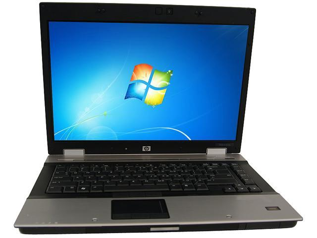 HP B Grade Laptop EliteBook 8530P Intel Core 2 Duo 2.40 GHz 4 GB Memory 160 GB HDD 15.4
