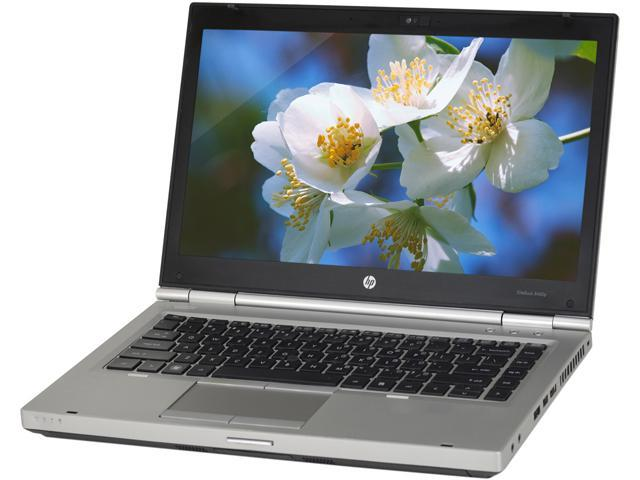HP B Grade Laptop 8460p Intel Core i5 2.50 GHz 4 GB Memory 128 GB SSD 14.0