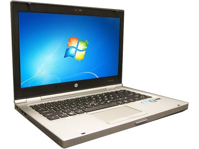 HP B Grade Laptop 8460p Intel Core i5 2.5 GHz 4 GB Memory 256 GB SSD 14.0