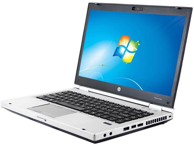 HP B Grade Laptop 8460p Intel Core i5 2.50 GHz 4 GB Memory 320 GB HDD 14.0