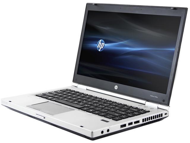 HP B Grade Laptop 8460p Intel Core i5 2.50 GHz 4 GB Memory 750 GB HDD 14.0