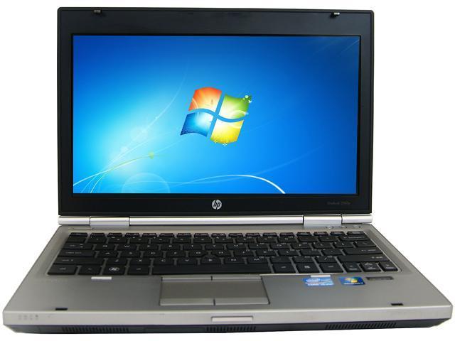 HP Laptop 2560P Intel Core i3 2310M (2.10 GHz) 4 GB Memory 320 GB HDD 12.5
