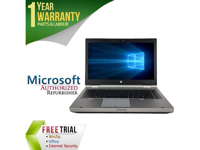 HP Laptop EliteBook 8460P Intel Core i7 2720QM (2.20 GHz) 8 GB Memory 500 GB HDD 14.0