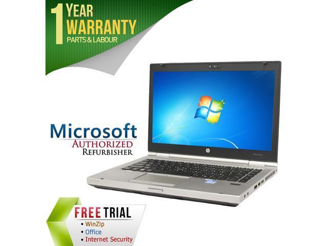 HP Laptop 8460P Intel Core i5 2520M (2.50 GHz) 12 GB Memory 500 GB HDD 14.0