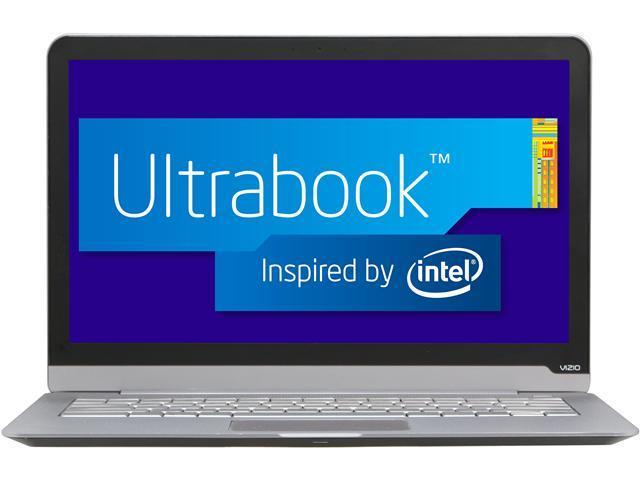 """VIZIO CT14-A0 Intel Core i3 4 GB Memory 128 GB SSD 14"""" Ultrabook Windows 7 Home Premium"""