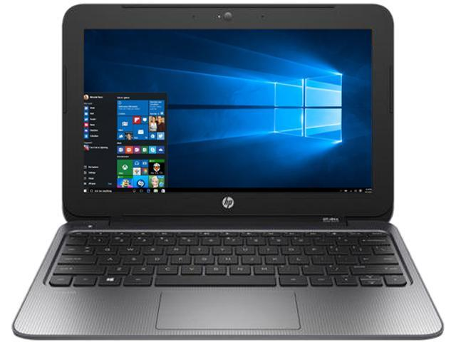 HP Laptop Stream 11 Pro G2 Intel Celeron N3050 (1.60 GHz) 4 GB Memory 64 GB SSD Intel HD Graphics 11.6