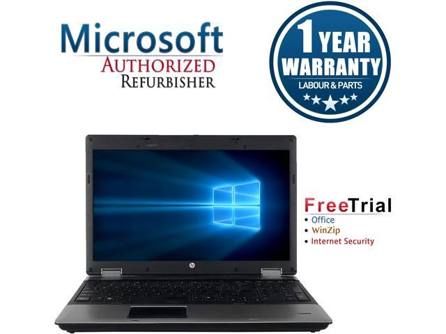HP Laptop ProBook 6555B AMD Phenom II N930 (2.0 GHz) 4 GB Memory 250 GB HDD Integrated Graphics 15.6