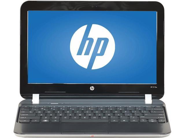 HP Laptop 3115M AMD E- Series E-450 (1.65 GHz) 4 GB Memory 320 GB HDD 11.6