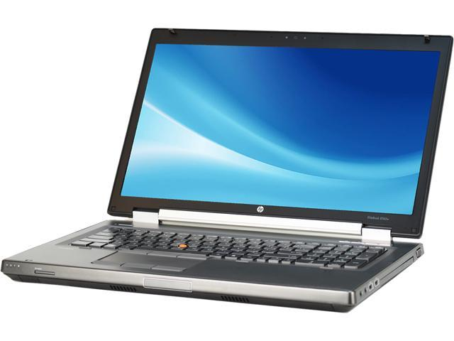HP Laptop EliteBook 8760W Intel Core i7 2720QM (2.20 GHz) 8 GB Memory 500 GB HDD Intel HD Graphics 3000 17.3