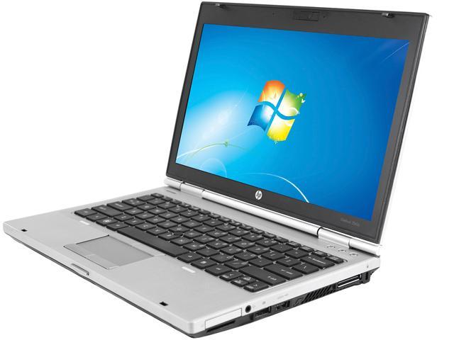 HP Laptop EliteBook 2560P Intel Core i7 2nd Gen 2620M (2.70 GHz) 8 GB Memory 128 GB SSD Intel HD Graphics 3000 12.5