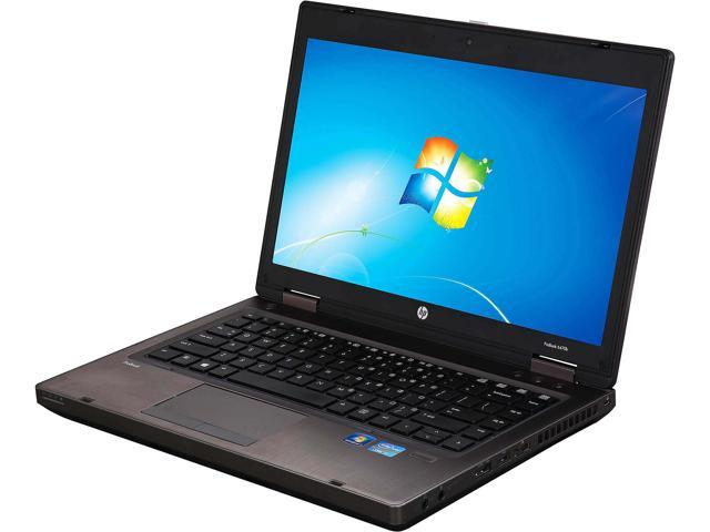 HP Laptop 6470P Intel Core i5 3rd Gen 3230M (2.60 GHz) 4 GB Memory 120 GB SSD 14.0