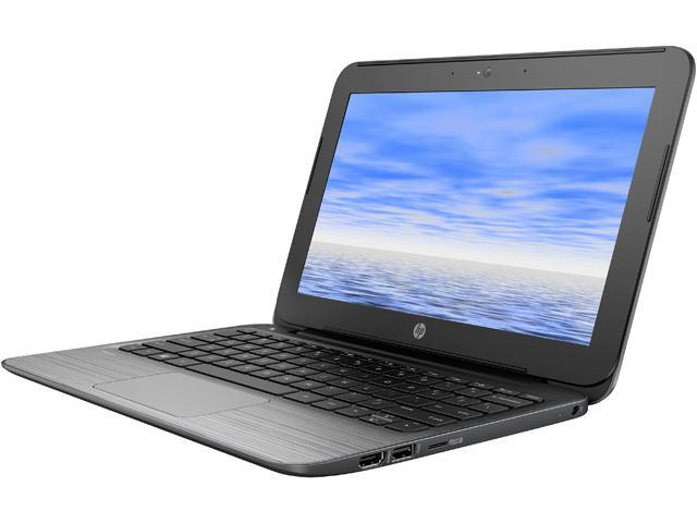 HP Bilingual Laptop Stream 11 Pro G2 T3L14UT#ABL Intel Celeron N3050 (1.60 GHz) 4 GB Memory 64 GB eMMC SSD Intel HD Graphics 11.6