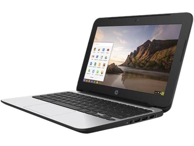 HP 11 G4 (V2W31UT#ABA) Chromebook Intel Celeron N2840 (2.16 GHz) 4 GB Memory 32 GB eMMC SSD 11.6