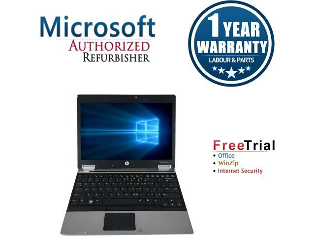 HP Laptop EliteBook 2540p Intel Core i5 2.40 GHz 4 GB Memory 160 GB HDD Intel HD Graphics 12.0