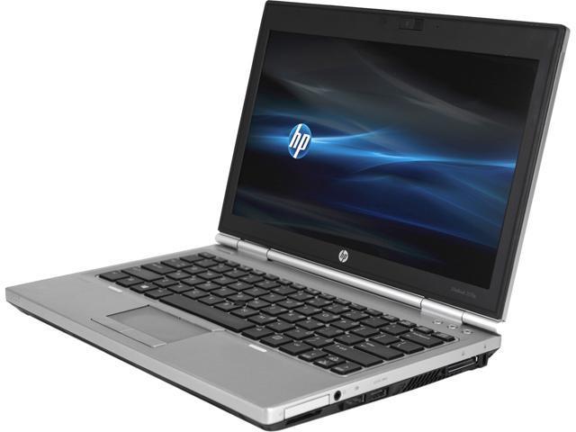 HP B Grade Laptop EliteBook 2570P Intel Core i3 2.3 GHz 4 GB Memory 320 GB HDD 12.5