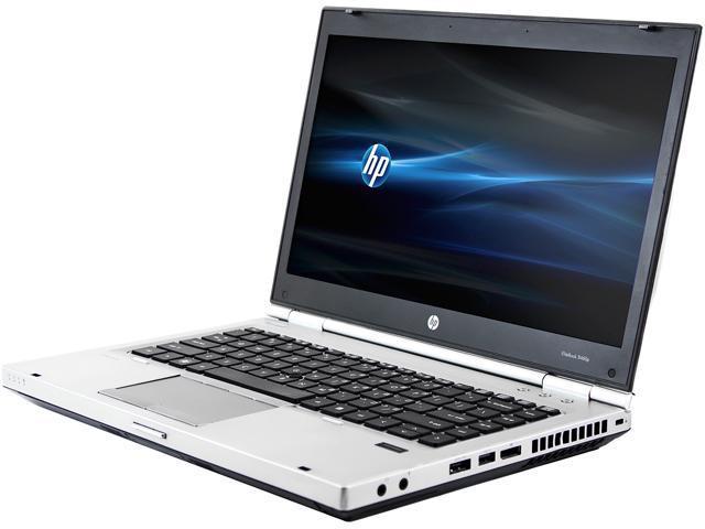 HP Laptop EliteBook 8460P Intel Core i5 2410M (2.30 GHz) 12 GB Memory 128 GB SSD 14.0