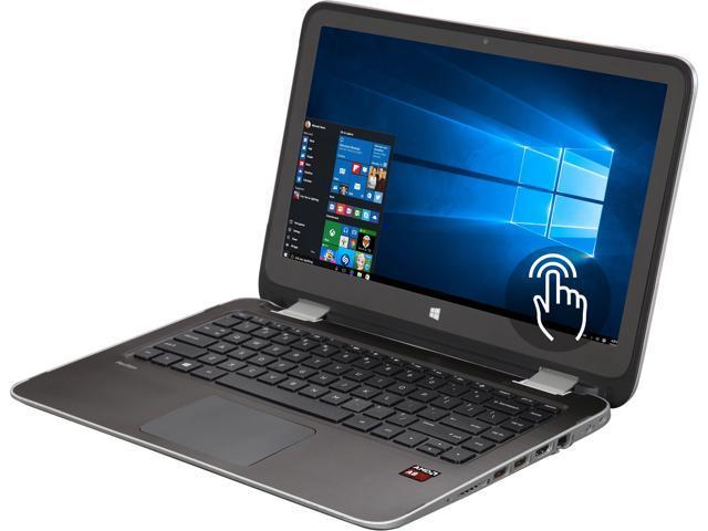 HP Convertible Laptop 13-A051NR AMD A8-Series A8-6410 (2.00 GHz) 2 GB Memory 500 GB HDD AMD Radeon R5 Series 13.3