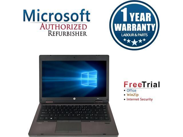 HP Laptop ProBook 6460B Intel Core i5 2520M (2.50 GHz) 4 GB Memory 250 GB HDD Intel HD Graphics 3000 14.0