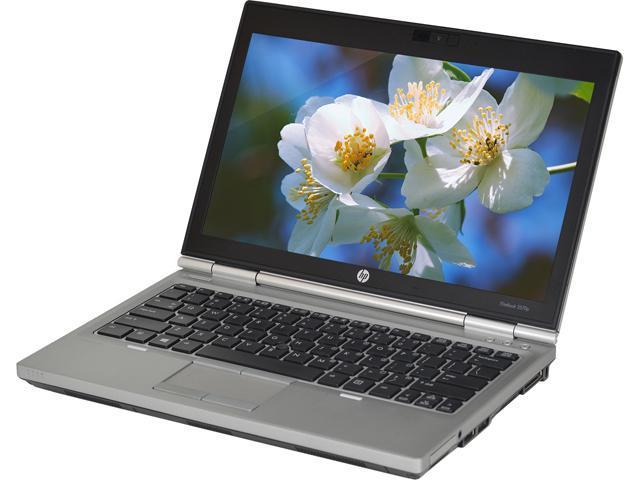 HP Laptop EliteBook 2570P Intel Core i5 3320M (2.60 GHz) 4 GB Memory 128 GB SSD 12.5