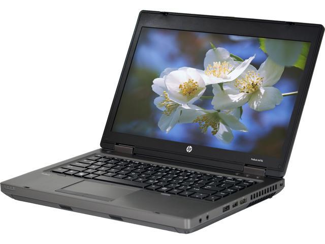HP Laptop ProBook 6475B AMD A6-Series A6-4400M (2.70 GHz) 4 GB Memory 320 GB HDD 14.0