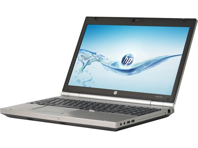 HP Laptop - B Grade EliteBook 8570P Intel Core i7 3720QM (2.60 GHz) 8 GB Memory 128 GB SSD 15.6