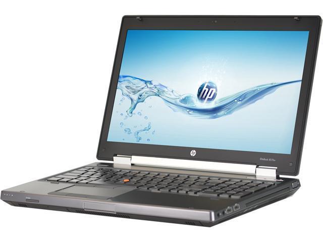 HP Laptop - C Grade EliteBook 8570W Intel Core i7 3720QM (2.60 GHz) 8 GB Memory 128 GB SSD 15.6