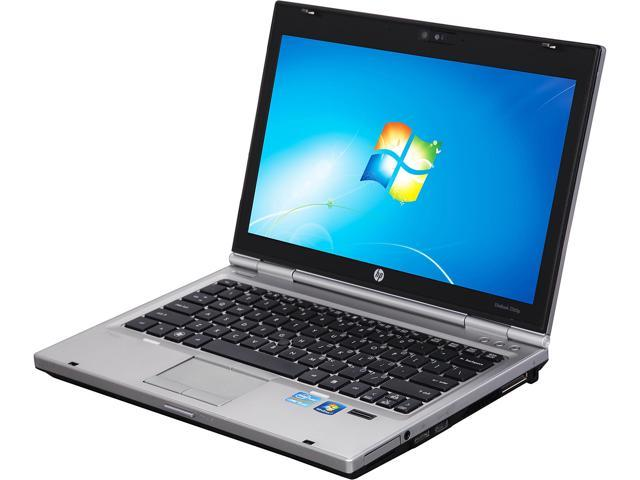 HP Laptop EliteBook 2560P Intel Core i5 2nd Gen 2540M (2.60 GHz) 4 GB Memory 160 GB SSD Intel HD Graphics 3000 12.5