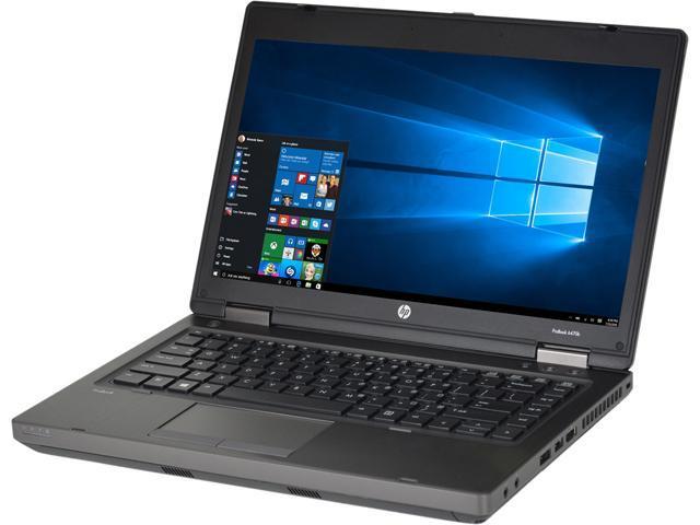 HP Laptop ProBook 6470B 3rd Gen Intel Core i5 2.60 GHz 4 GB Memory 250 GB HDD 14.0