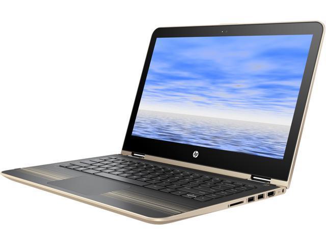 HP Pavilion x360 13-u020ca Bilingual 2-in-1 Laptop Intel Core i3 6100U (2.30 GHz) 500 GB HDD Intel HD Graphics 520 Shared memory 13.3