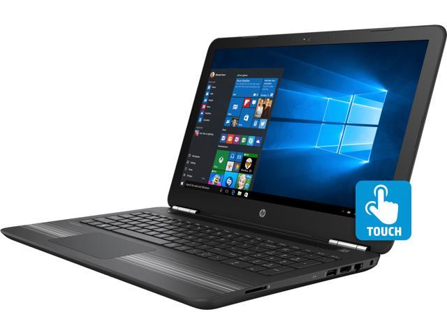 HP Pavilion 15-aw030ca (W7B74UA#ABL) Bilingual Laptop AMD A6-Series A6-9210 (2.40 GHz) 8 GB Memory 1 TB HDD AMD Radeon R4 Series 15.6