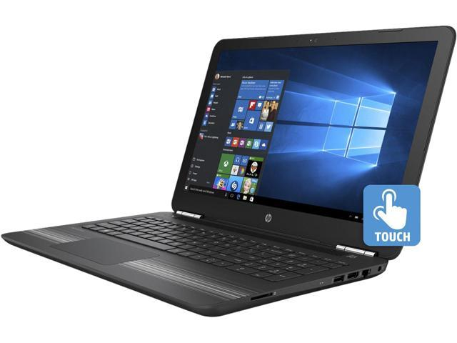 HP 15-ba020ca (W7B98UA#ABL) Bilingual Laptop  AMD A6-Series A6-7310 (2.00 GHz) 6 GB Memory 1 TB HDD AMD Radeon R4 Series 15.6