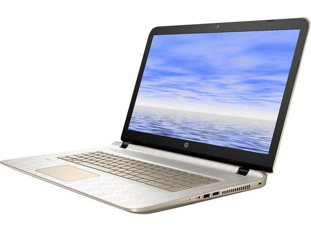 HP Laptop Pavilion 17-g201cy AMD A10-Series A10-8700P (1.80 GHz) 12 GB Memory 1 TB HDD AMD Radeon R6 Series 17.3