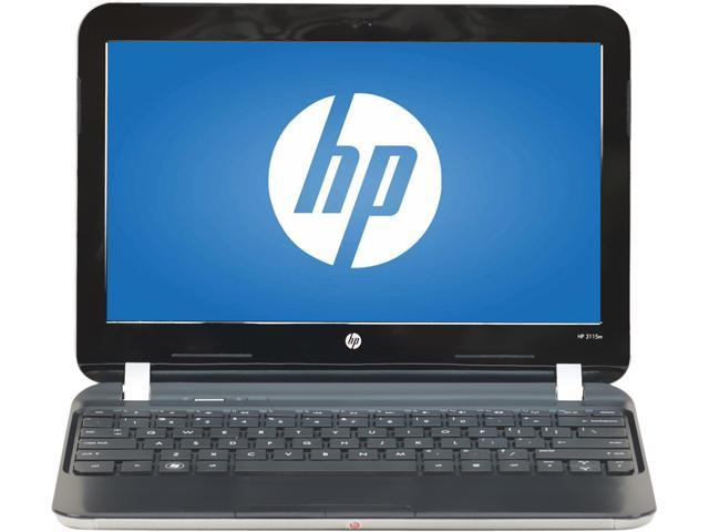 HP B Grade Laptop 3115M AMD E- Series E-300 (1.3 GHz) 4 GB Memory 320 GB HDD 11.6