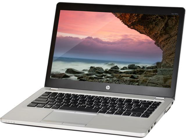 HP B Grade Laptop Folio 9470M Intel Core i7 3rd Gen 3667U (2.00 GHz) 8 GB Memory 320 GB HDD 14.0