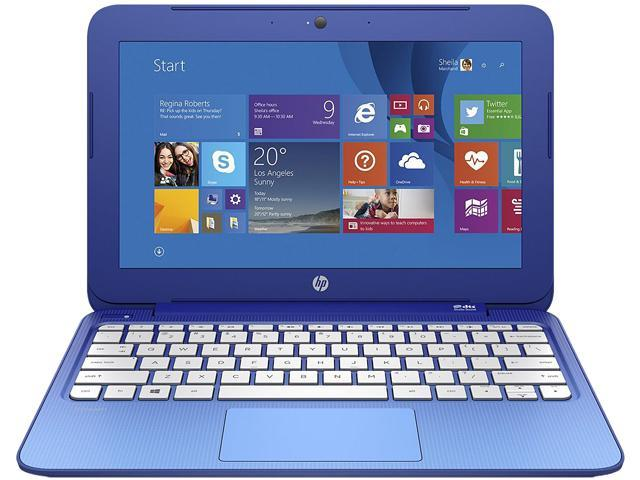 HP Laptop Stream 11-r010nr Intel Celeron N3050 (1.60 GHz) 2 GB Memory 32 GB eMMC SSD Intel HD Graphics 11.6
