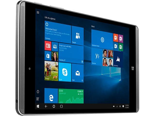 HP Pro Tablet 608 G1 V2V97UA#ABA Intel Atom x5 Z8500 1.44 GHz 4 GB Memory 7.86