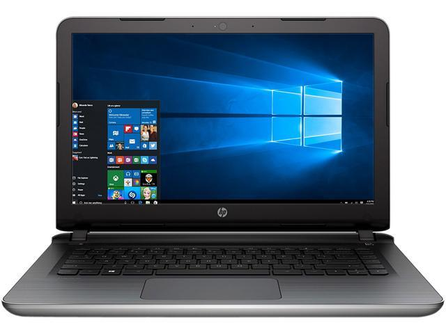 HP Laptop AMD E1-Series E1-6015 (1.40 GHz) 2 GB Memory 32 GB SSD 14.0