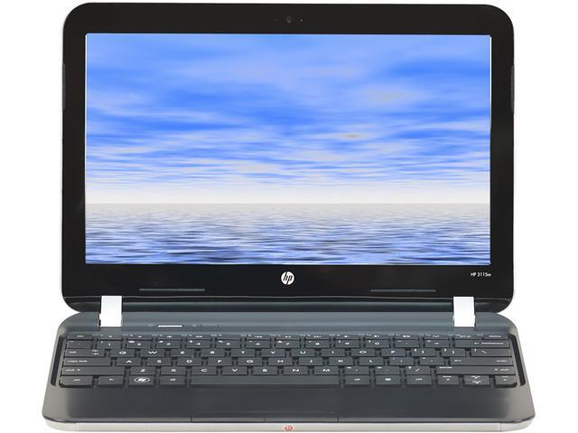 HP Grade B Laptop 3115M AMD E-Series E-450 (1.65 GHz) 2 GB Memory 320 GB HDD 11.6