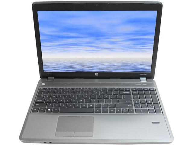 HP Grade B Laptop ProBook 4545S AMD A6-Series A6-4400M (2.70 GHz) 8 GB Memory 320 GB HDD AMD Radeon HD 7520G 15.6