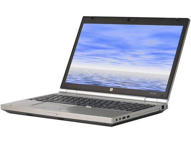 HP Laptop EliteBook 8570P Intel Core i5 3rd Gen 3320M (2.60 GHz) 8 GB Memory 128 GB SSD Intel HD Graphics 4000 15.6