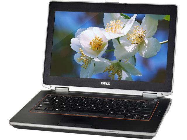 DELL Grade C Laptop E6420 Intel Core i3 2310M (2.10 GHz) 4 GB Memory 250 GB HDD Intel HD Graphics 3000 14.0