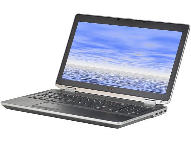 DELL Laptop E6530 Intel Core i5 3210M (2.50 GHz) 8 GB Memory 256 GB SSD Intel HD Graphics 4000 15.6