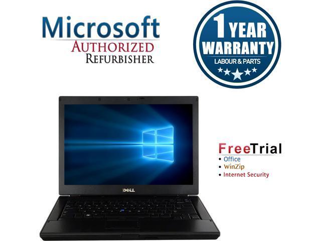 DELL Laptop Latitude E6410 Intel Core i5 520M (2.40 GHz) 4 GB Memory 250 GB HDD Intel HD Graphics 14.1