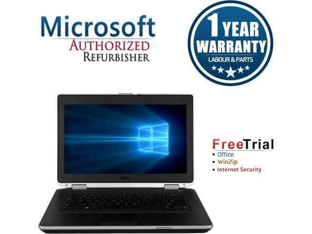 DELL Laptop Latitude E6420 Intel Core i5 2520M (2.50 GHz) 8 GB Memory 500 GB HDD Intel HD Graphics 3000 14.0