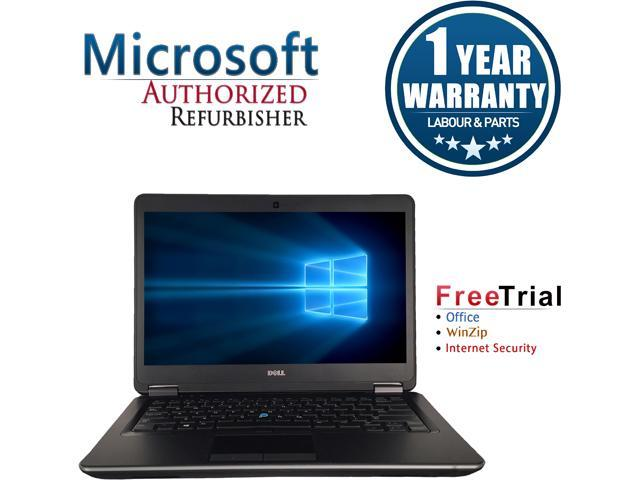DELL Laptop Latitude E7440 Intel Core i5 4300U (1.90 GHz) 8 GB Memory 500 GB HDD Intel HD Graphics 4400 14.0