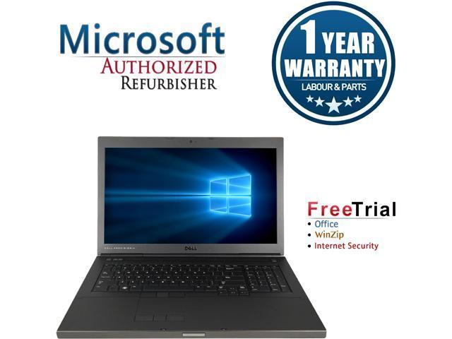 DELL Laptop Precision M6600 Intel Core i5 2540M (2.60 GHz) 4 GB Memory 500 GB HDD Discrete Graphics Card 17.3