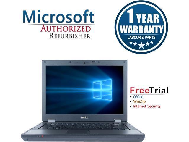 DELL Laptop Latitude E5410 Intel Core i5 520M (2.40 GHz) 4 GB Memory 160 GB HDD Intel HD Graphics 14.1