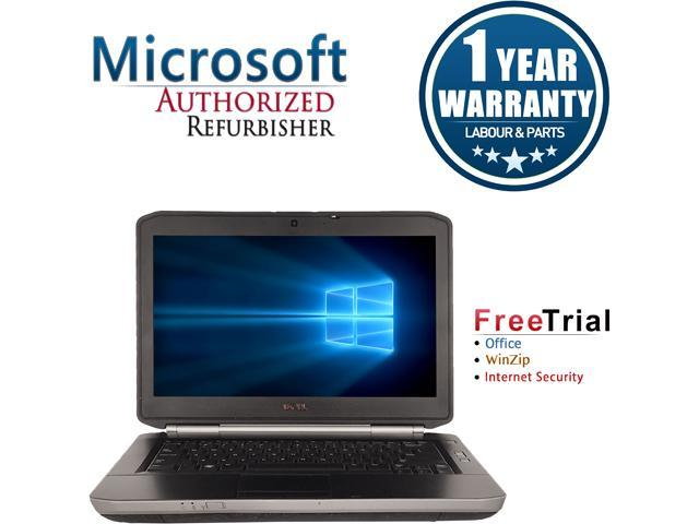 DELL Laptop Latitude E5420 Intel Core i5 2410M (2.30 GHz) 4 GB Memory 160 GB HDD Intel HD Graphics 3000 14.0