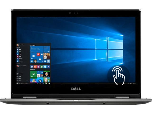 DELL Laptop Inspiron 13 5000 i5368-4071GRY Intel Core i5 6200U (2.30 GHz) 4 GB Memory 128 GB SSD Intel HD Graphics 520 13.3
